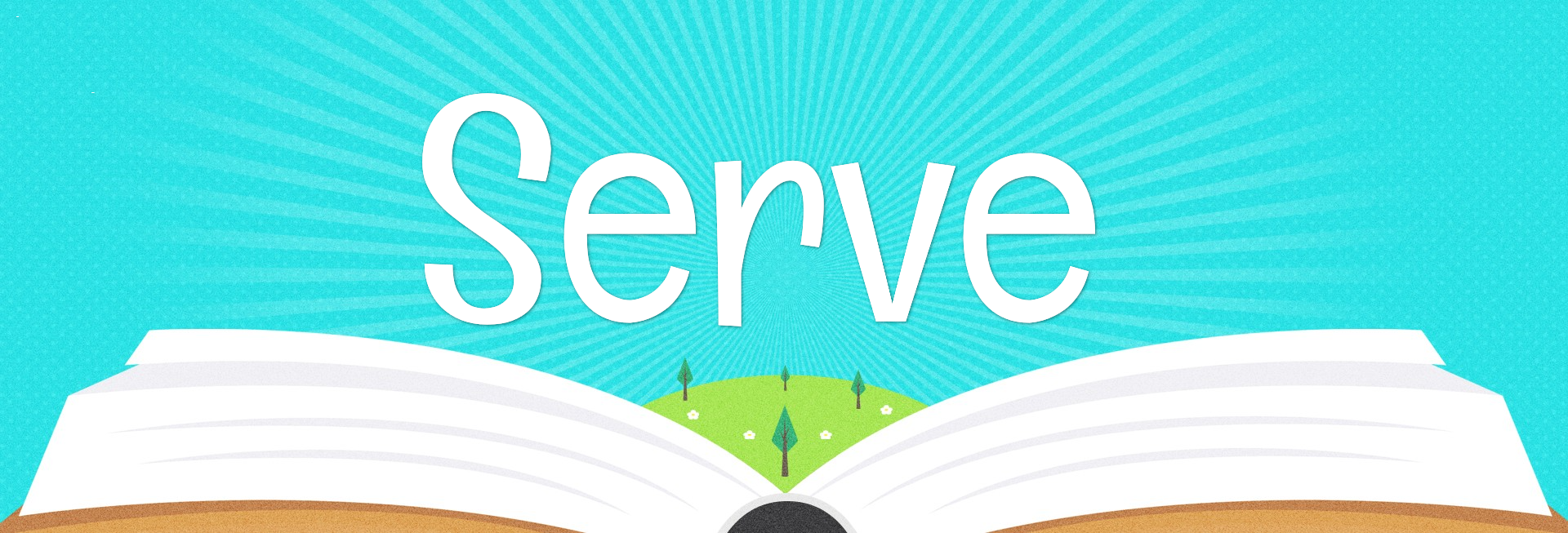 Kid's Church Service Website Banner